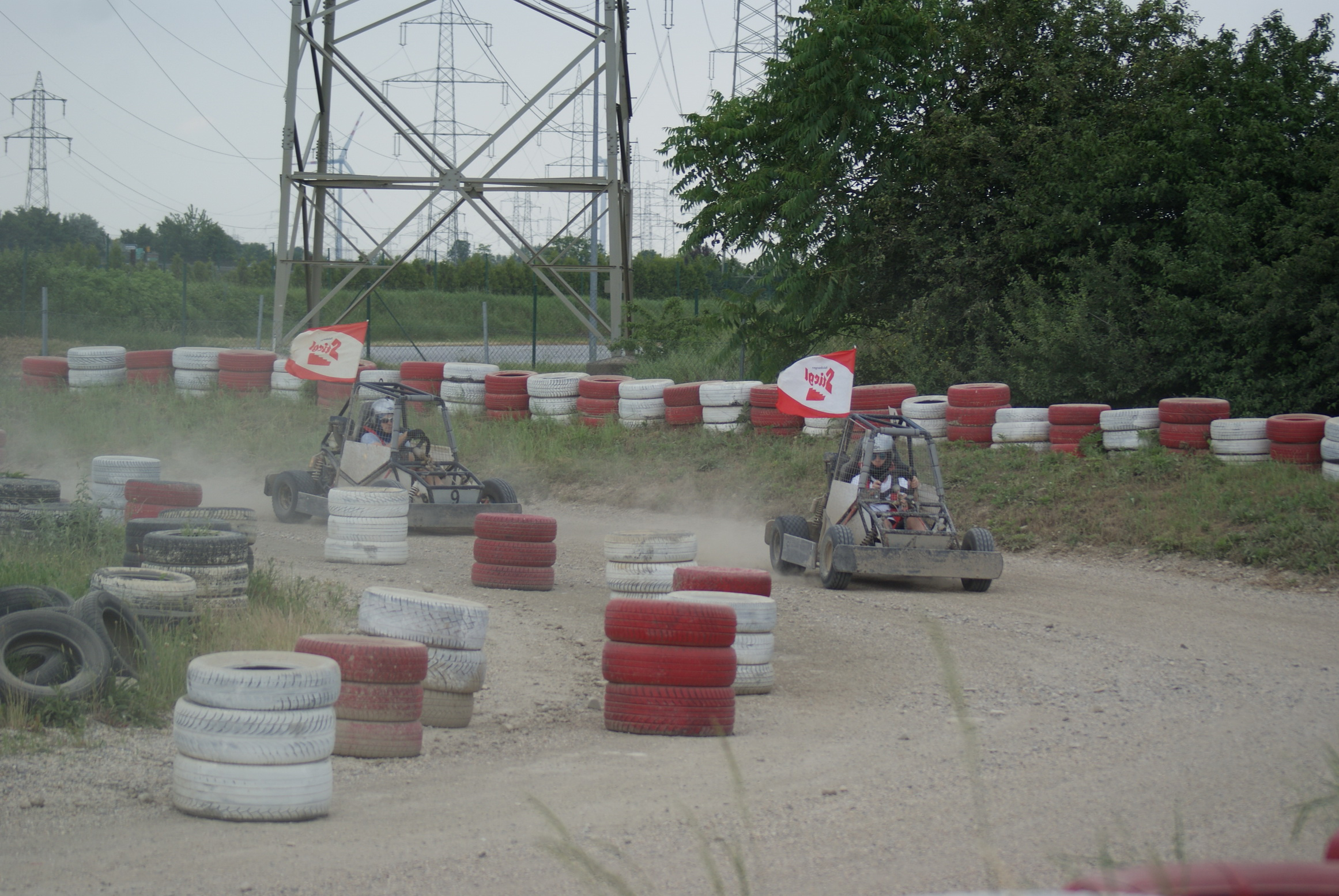 Action am Driving Camp in Pachfurth